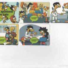 Coleccionismo Calendarios: 5 CALENDARIOS PUBLICITARIOS 2008 ( EN GALLEGO ). Lote 98791431