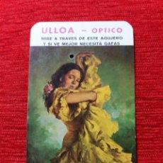 Coleccionismo Calendarios: CALENDARIO DE BOLSILLO -ULLOA OPTICO-. Lote 98898799