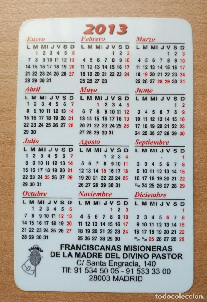 Coleccionismo Calendarios: Ca 56 Calendario Franciscanas Misioneras de la Madre del Divino Pastor - 2013 - Foto 2 - 99180947