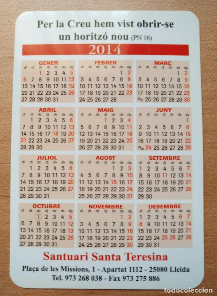 Coleccionismo Calendarios: Ca 57 Calendario Claustro del Carmelo de Lisieux - 2014 - Foto 2 - 99181463
