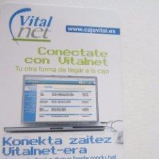 Coleccionismo Calendarios: CALENDARIO FOURNIER CAJA VITAL KUTXA 2006. Lote 99244131
