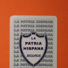 Collezionismo Calendari: CALENDARIO FOURNIER. LA PATRIA HISPANA SEGUROS. AÑO 1996.. Lote 99301639