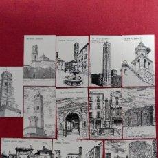 Coleccionismo Calendarios: SERIE DE 18 CALENDARIOS DE ZARAGOZA DE 2002. Lote 114787891