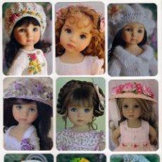 Coleccionismo Calendarios: -73490 9 CALENDARIOS MUÑECAS DIANNA EFFNER, AÑO 2017, PRECIOSAS FOTOGRAFIAS, 1ª SERIE. Lote 143930552