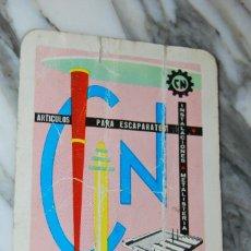 Coleccionismo Calendarios: CALENDARIO CARLOS NAVARRO - FOURNIER - 1964. Lote 99480991