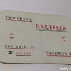 Coleccionismo Calendarios: CALENDARIO 1966. Lote 99483987
