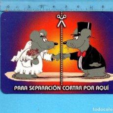 Coleccionismo Calendarios: CALENDARIO DE HUMOR DEL AÑO 2010 CON PUBLICIDAD . Lote 99667947