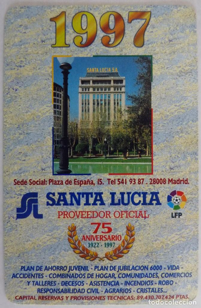 Santa Lucia Calendario.Calendario Fournier Santa Lucia 1997