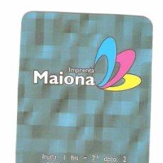 Coleccionismo Calendarios: CALENDARIO DE BOLSILLO PUBLICITARIO AÑO 2007 IMPRENTA MAIONA - BILBAO - BIZKAIA. Lote 100394523