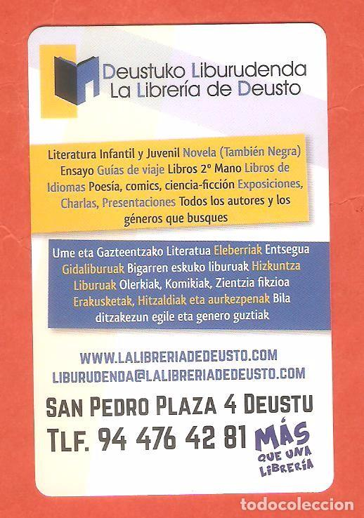 Calendario Deusto.Calendario De Bolsillo Publicitario Ano 2016 La Libreria De Deusto Bilbao