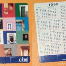Coleccionismo Calendarios: CALENDARIO EDITADO EN PORTUGAL - 1999 - CIN. Lote 100557059