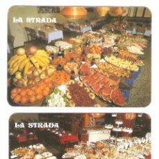 Coleccionismo Calendarios: 2 CALENDARIOS DE BOLSILLO PUBLICITARIOS AÑOS 1983 Y 1986 LA STRADA- GRAN CANARIA - FOTO REVERSOS. Lote 100755519