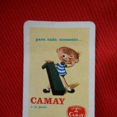 Coleccionismo Calendarios: CALENDARIO FOURNIER 1963-PARA CADA MOMENTO -CAMAY Y SU GATO-HELADOS CAMAY. Lote 101052791