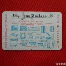Coleccionismo Calendarios: CALENDARIO FOURNIER 1965-JUAN PACHECO-FABRICA DE PALAS -ALCANTARILLA MURCIA. Lote 101055687