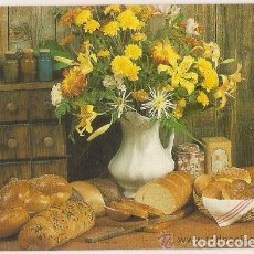 Coleccionismo Calendarios: -43514 CALENDARIO BODEGON DE FLORES Y PAN, AÑO 1991, CON PUBLICIDAD. Lote 101198691