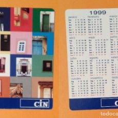 Coleccionismo Calendarios: CALENDARIO EDITADO EN PORTUGAL - 1999 - CIN. Lote 101421331