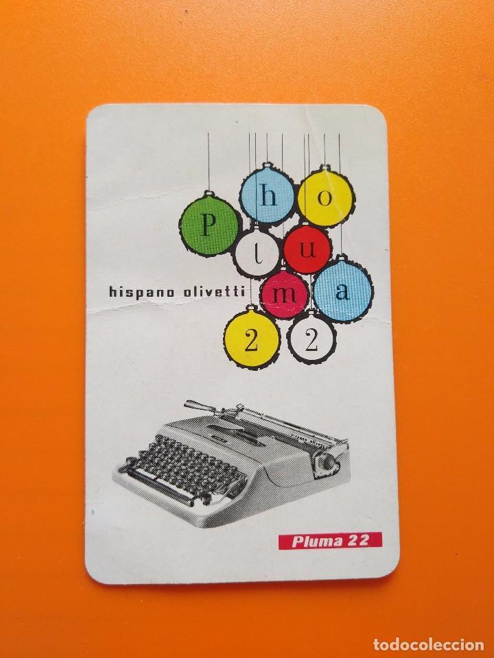 CALENDARIO FOURNIER HISPANO OLIVETTI (1958) (Coleccionismo - Calendarios)