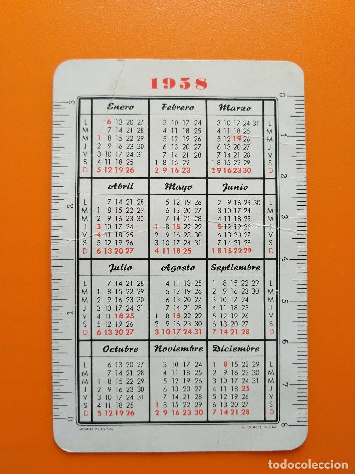 Coleccionismo Calendarios: CALENDARIO FOURNIER HISPANO OLIVETTI (1958) - Foto 2 - 129477315