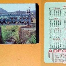 Coleccionismo Calendarios: CALENDARIO EDITADO EN PORTUGAL - 1987 - ADEGA 74 - VILA NOVA DE GAIA. Lote 101531675