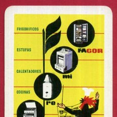 Coleccionismo Calendarios: CALENDARIO FOURNIER , PUBLICIDAD FAGOR , 1964 , ORIGINAL , CAL9420. Lote 101625371