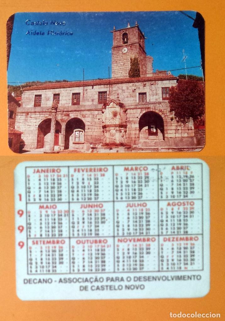 CALENDARIO EDITADO EN PORTUGAL - 1999 - CASTELO NOVO (Coleccionismo - Calendarios)