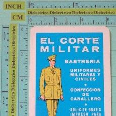 Coleccionismo Calendarios: CALENDARIO DE BOLSILLO FOURNIER. AÑO 1982. EL CORTE MILITAR SASTRERÍA. Lote 163841885
