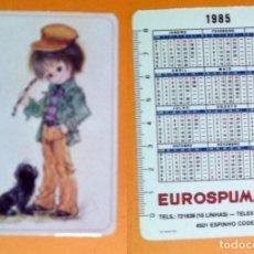 Coleccionismo Calendarios: CALENDARIO SERIE INFANTIL - EDITADO EN PORTUGAL -1985 - EUROSPUMA, LDA.. Lote 102594135