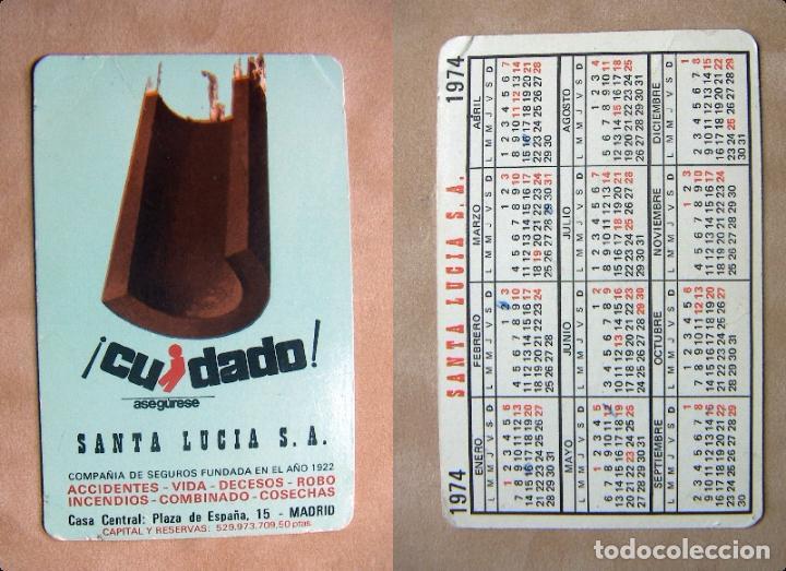 Santa Lucia Calendario.Calendario Seguros Santa Lucia 1974