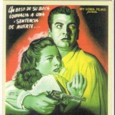 Coleccionismo Calendarios: -26856 CALENDARIO PELICULA EL BESO DE LA MUERTE, AÑO 2008, CINE. Lote 102849979