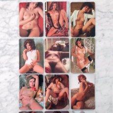 Coleccionismo Calendarios: CALENDARIO DE BOLSILLO - LOTE DE 12 CALENDARIOS DE CHICAS - 1978. Lote 102913355