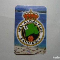 Coleccionismo Calendarios: CALENDARIO FUTBOL SANTANDER -2001. Lote 103111291