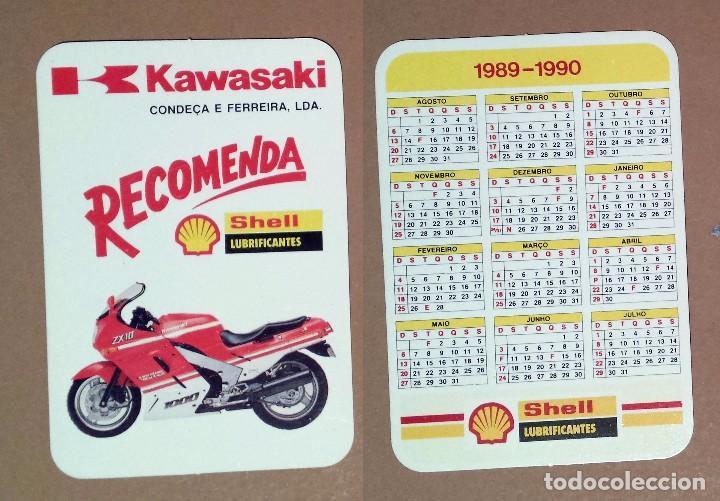 Calendario Serie A 17 18.Calendario Serie Motociclismo Editado En Portugal 1990 Kawasaki Shell