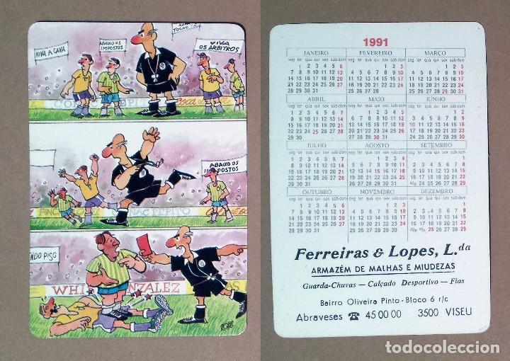Calendario Serie A 17 18.Calendario Serie Humor Editado En Portugal 1991