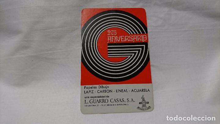 CALENDARIO FOURNIER 1973 L. GUARRO CASAS (Coleccionismo - Calendarios)