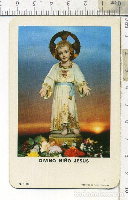 CALENDARIO FOURNIER DIVINO NIÑO JESUS 1963 (Coleccionismo - Calendarios)