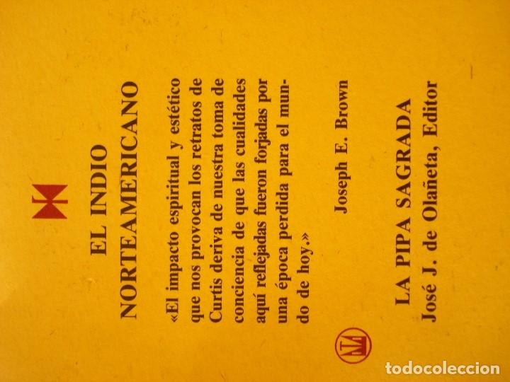 Coleccionismo Calendarios: EL INDIO NORTEAMERICANO - EDWARD S CURTIS - OLAÑETA EDITOR - Foto 3 - 103662851