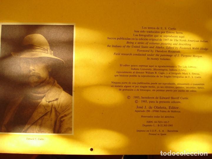 Coleccionismo Calendarios: EL INDIO NORTEAMERICANO - EDWARD S CURTIS - OLAÑETA EDITOR - Foto 5 - 103662851
