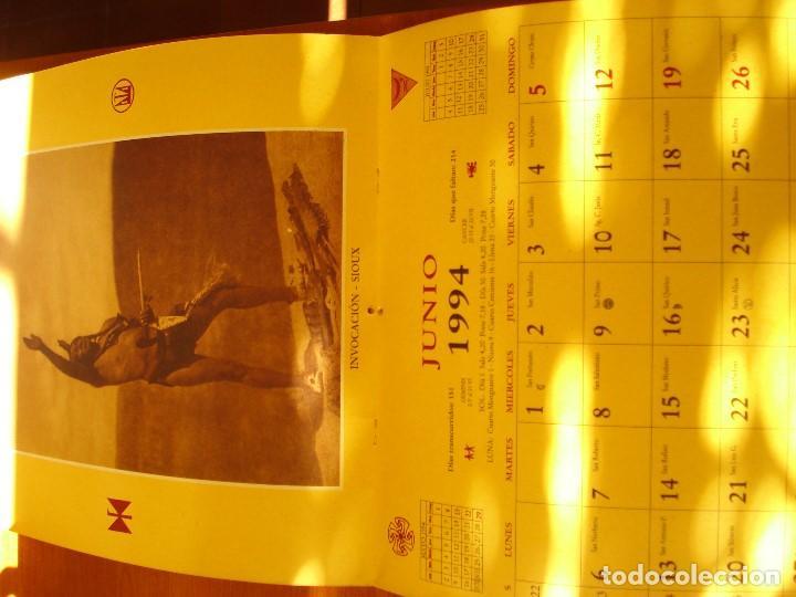 Coleccionismo Calendarios: EL INDIO NORTEAMERICANO - EDWARD S CURTIS - OLAÑETA EDITOR - Foto 9 - 103662851