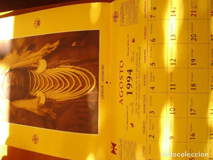 Coleccionismo Calendarios: EL INDIO NORTEAMERICANO - EDWARD S CURTIS - OLAÑETA EDITOR - Foto 10 - 103662851