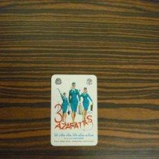 Coleccionismo Calendarios: CALENDARIO DE BOLSILLO. 3 AZAFATAS. 1964. H. FOURNIER. MUY BUENA CONSERVACION.. Lote 103705739