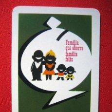 Coleccionismo Calendarios: CALENDARIO DE BOLSILLO HERACLIO FOURNIER - CAJA DE AHORROS Y MONTE DE PIEDAD DE BARCELONA AÑO 1965. Lote 103721311