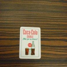 Coleccionismo Calendarios: CALENDARIO DE BOLSILLO. COCA COLA. 1964. H. FOURNIER. BUENA CONSERVACION.. Lote 103907851