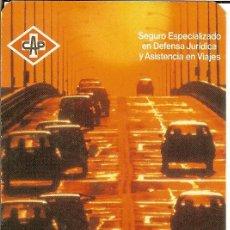 Coleccionismo Calendarios: CALENDARIO PUBLICITARIO SEGUROS - 1987 - CAP. Lote 104184243