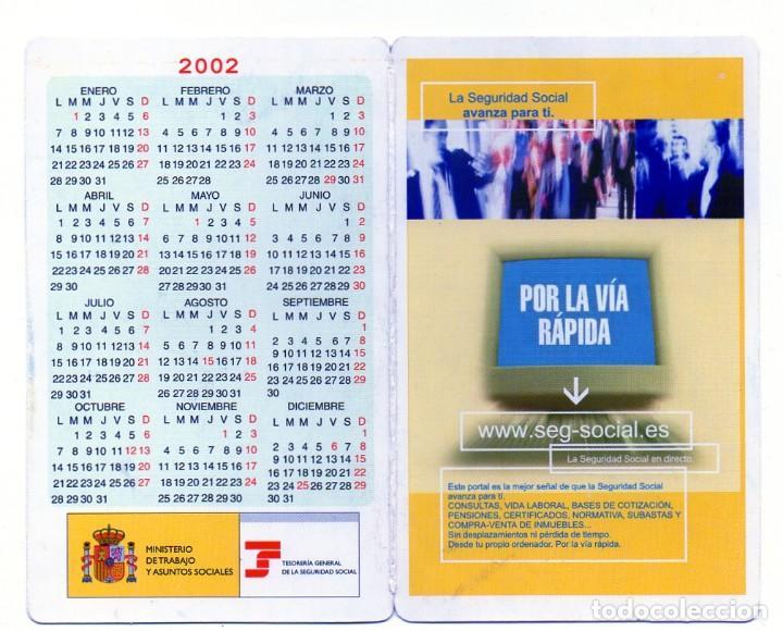 Seg Social Calendario Laboral.Calendario De Publicidad 2002 Seguridad Social Sold Through Direct