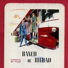 Coleccionismo Calendarios: CALENDARIO FOURNIER , PUBLICIDAD BANCO BILBAO , 1963 , ORIGINAL , CAL9595. Lote 104289467