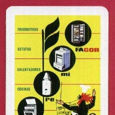 Coleccionismo Calendarios: CALENDARIO FOURNIER , PUBLICIDAD FAGOR , 1964 , ORIGINAL , CAL9627. Lote 104295635