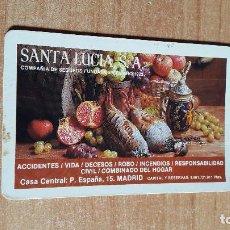 Coleccionismo Calendarios: CALENDARIO PUBLICITARIO SANTA LUCIA AÑO 1983. Lote 104428987