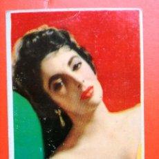 Coleccionismo Calendarios: CALENDARIO DE BOLSILLO. ELIZABETH TAYLOR. 1958 ..PUBLICIDAD DE CARMELO MILLA ,JAEN.. Lote 104429187