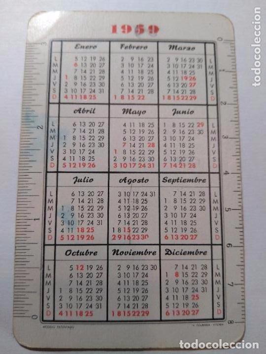 Coleccionismo Calendarios: Fournier 1959. Calendario Fournier Asunción de Ntra. Sra. Año 1959. - Foto 2 - 104657347