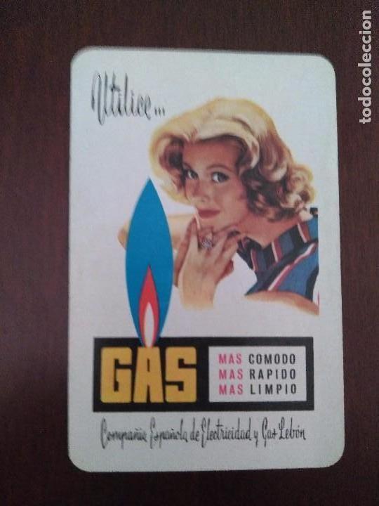 CALENDARIO FOURNIER DE GAS LEBÓN. AÑO 1959. (Coleccionismo - Calendarios)
